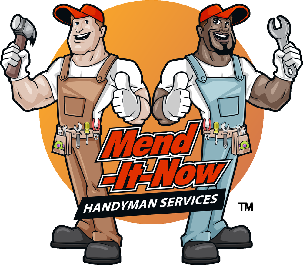 Handyman clipart hardware store. Mend it now services