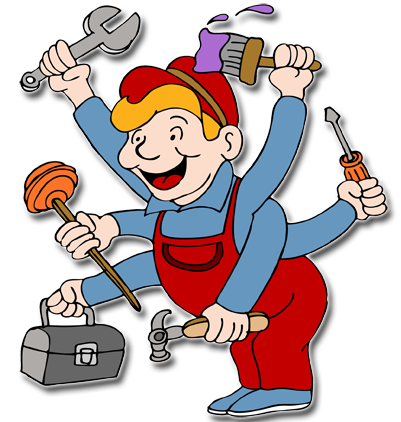 Handyman clipart hire. Pin by anev barry