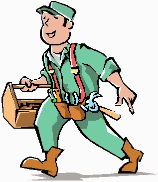 Handyman clipart hire. California real estate management