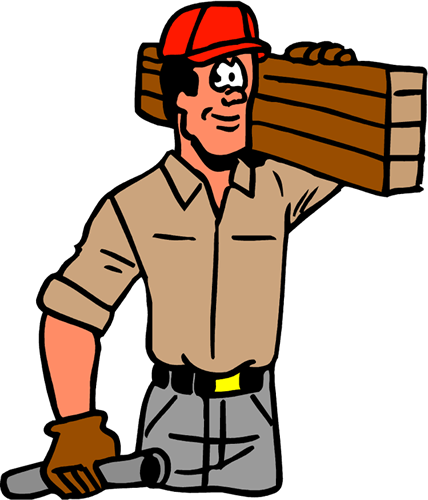 Labor clipart skilled worker. Free maintenance man cliparts