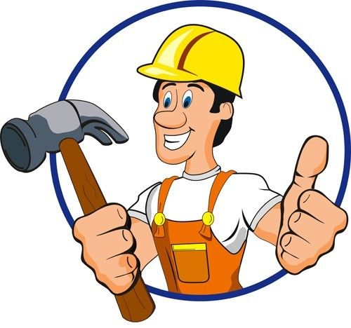 Handyman clipart office renovation. Professional painting services all
