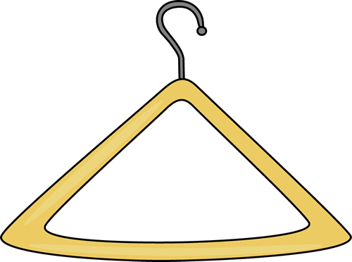 Hanger . Frame clipart clothes picture freeuse download
