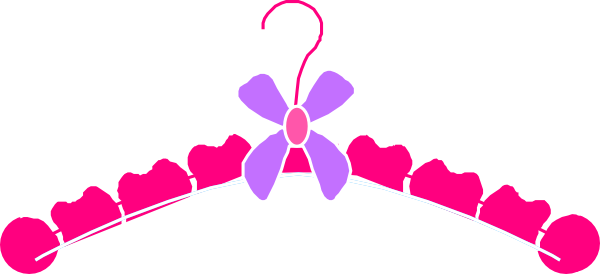 Vector bows illustrator. Bow hanger with clipart