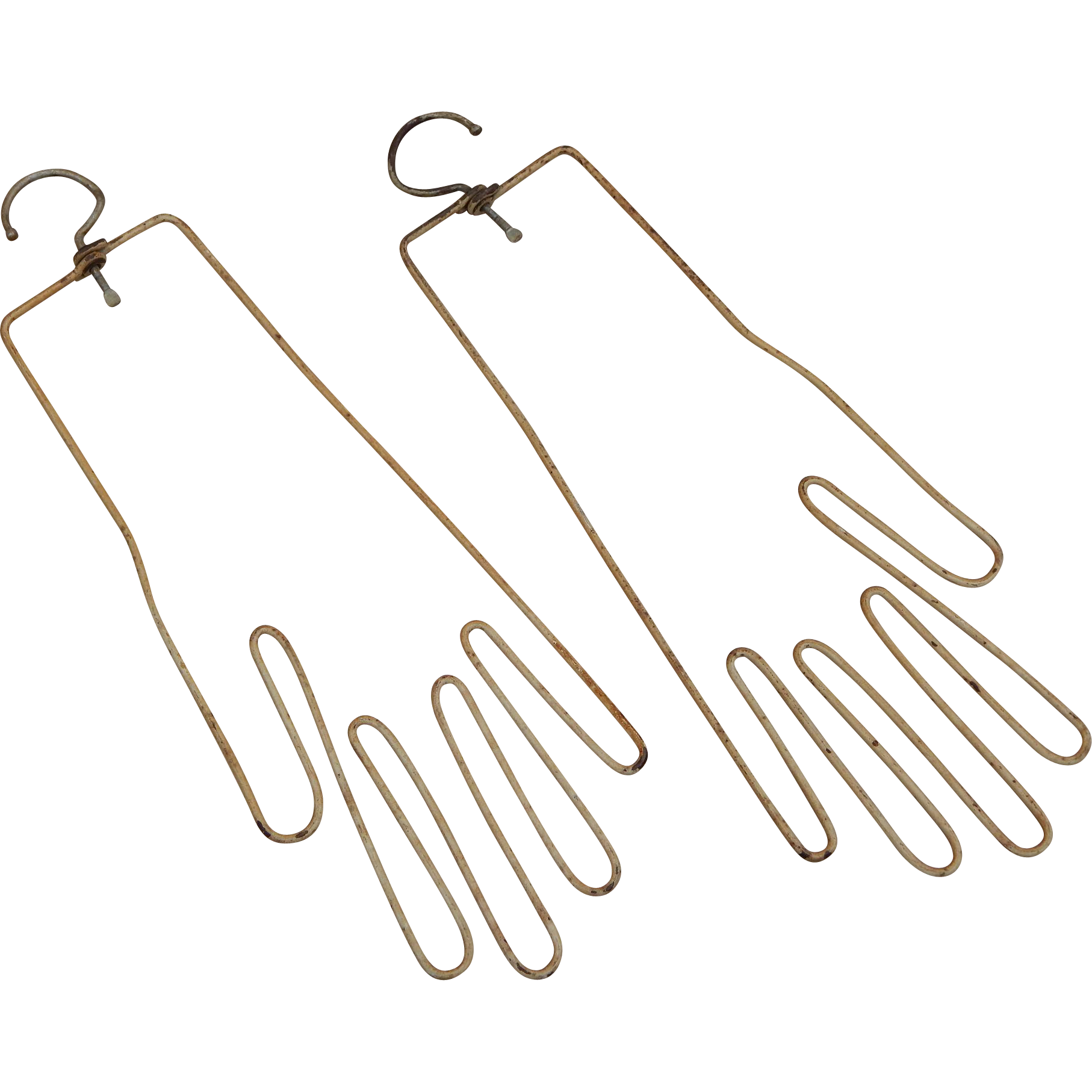 Hanger clipart vintage. Pale yellow gold wire
