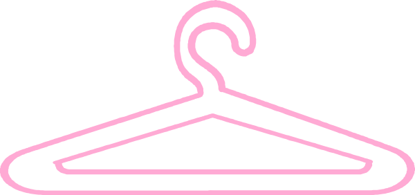 Hanger clipart fashion. Clothes clip art library
