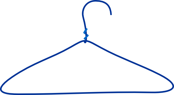 Hanger clipart wire hanger. Clothes clip art at