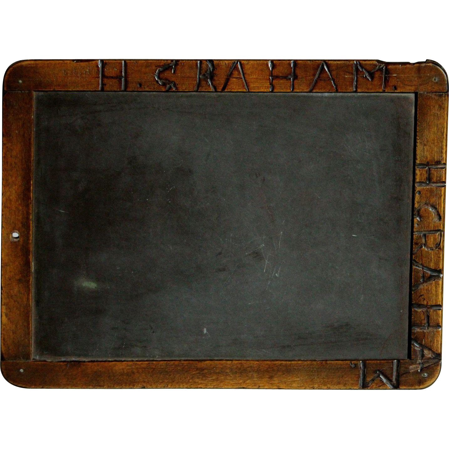 Vector chalkboard wooden. Antique english th century
