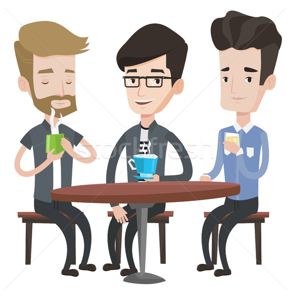 Guys stock vectors illustrations. Hanging out with clipart png transparent download