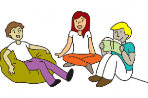 Hanging out with clipart friends clipart. Healthy man station related