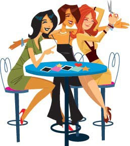 Hanging out with clipart girls. Friends free download best