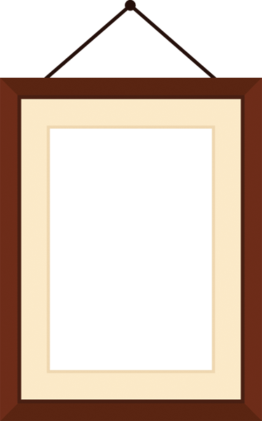 Hanging picture frame png. Photo sticker tenstickers