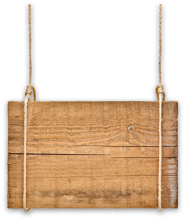 Wood board png. Hanging sign image