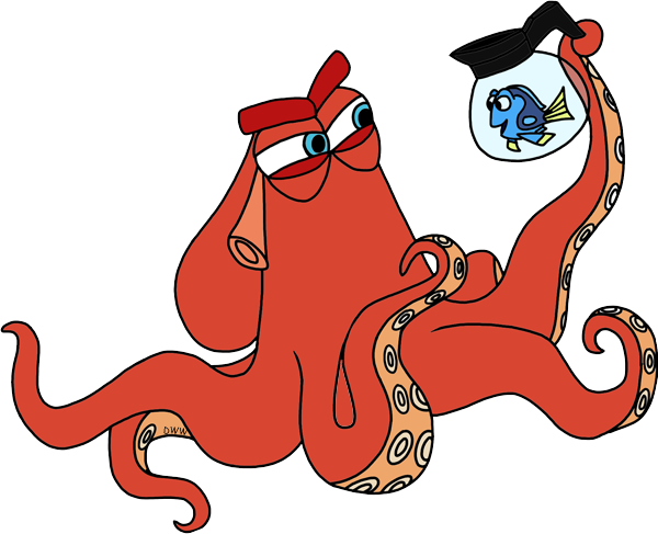 Hank finding dory clip art png. Disney galore in coffee
