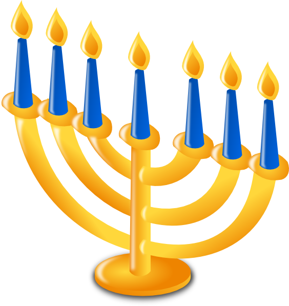 Hanukkah clipart ashura. Candles clip art at