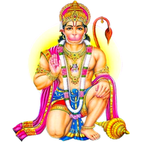 Hanuman drawing chest. Download free png photo