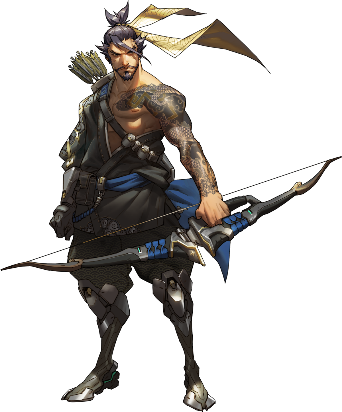Hanzo bow png. Overwatch wiki