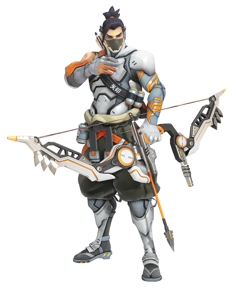 Overwatch hanzo png. Bow and arrow quiver