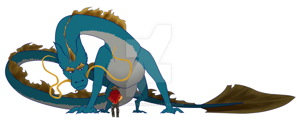 Hanzo dragon png. By thane on deviantart