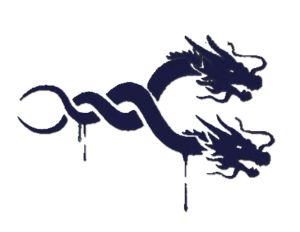 Hanzo dragon png. Image spray dragons overwatch