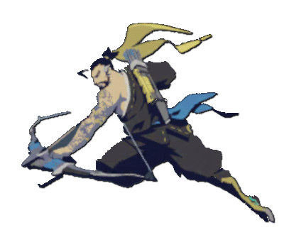 Play of the game overwatch png. Image hanzo spray archer