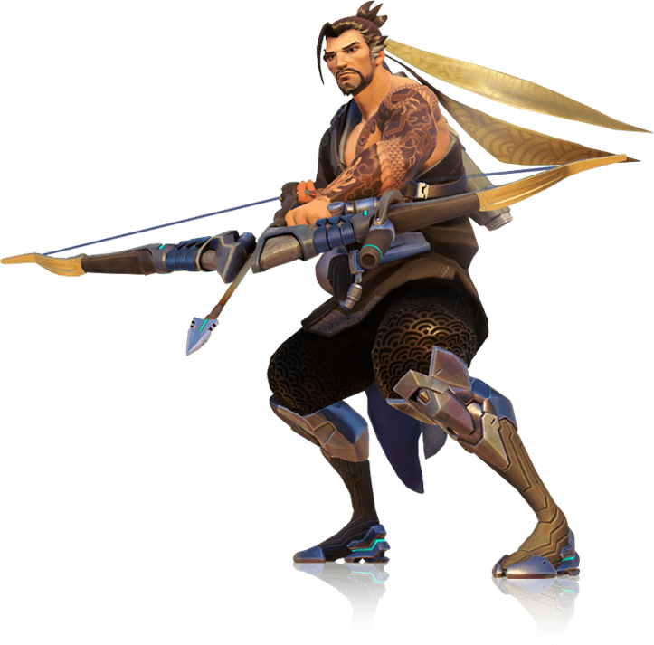hanzo overwatch png