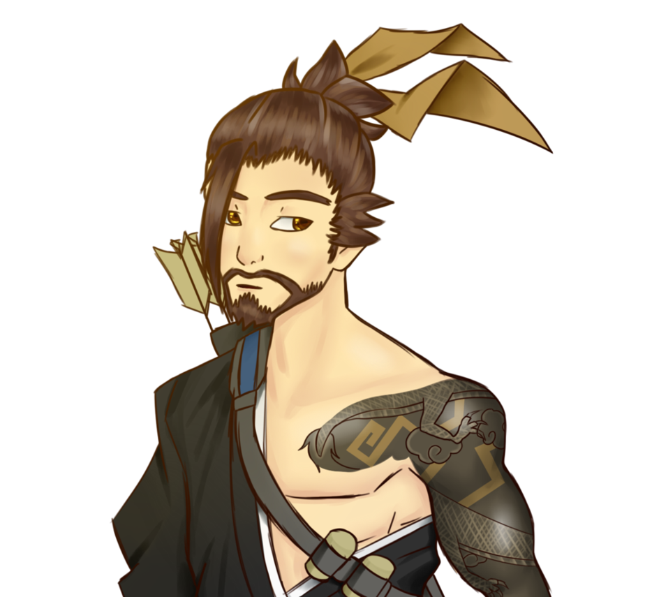 Hanzo tattoo png. Overwatch by lewildgeek on