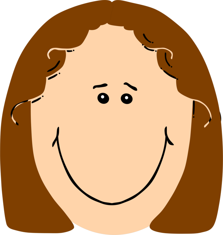 Happiness clipart. Smiley face girl free