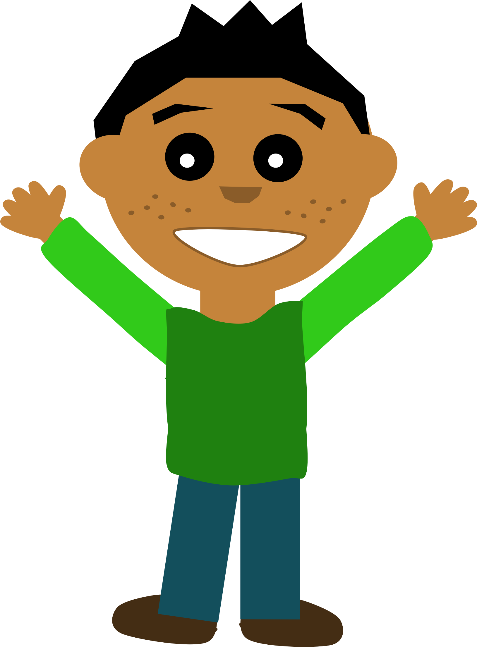 Happiness clipart happy man. Doing person clip arts