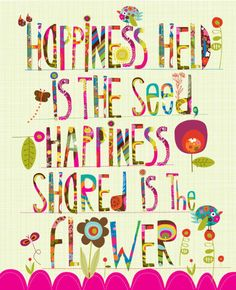 Happiness clipart inspirational quote. Keys to relating