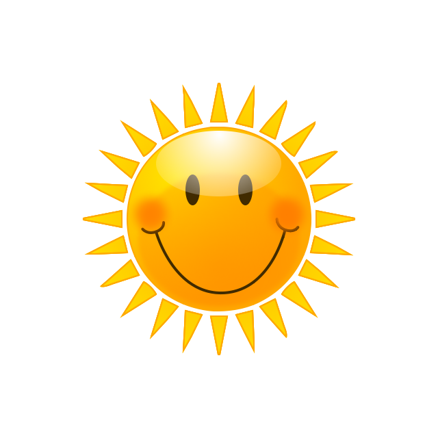 Liver clipart happy. Free sunshine pictures clip