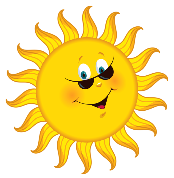 sun smiley png