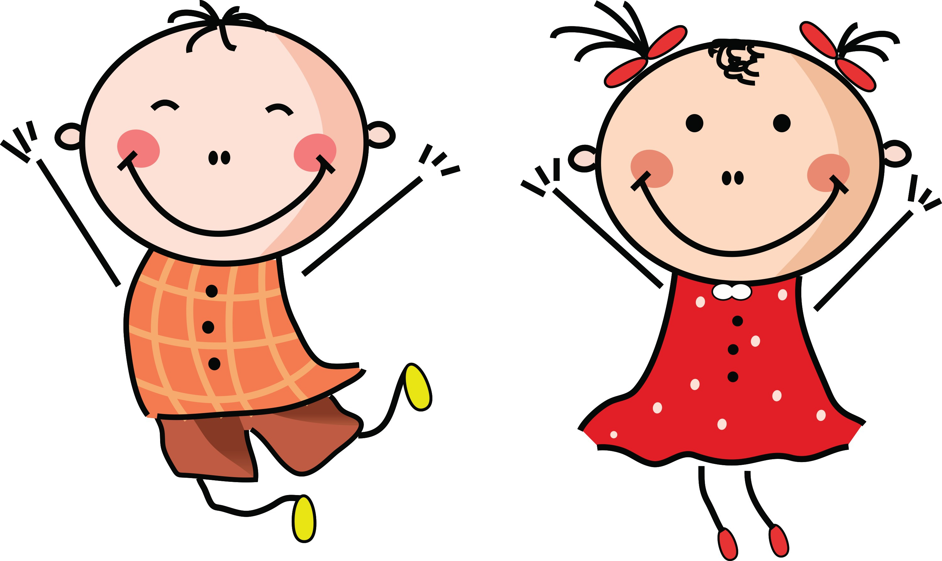 Happiness clipart vector
