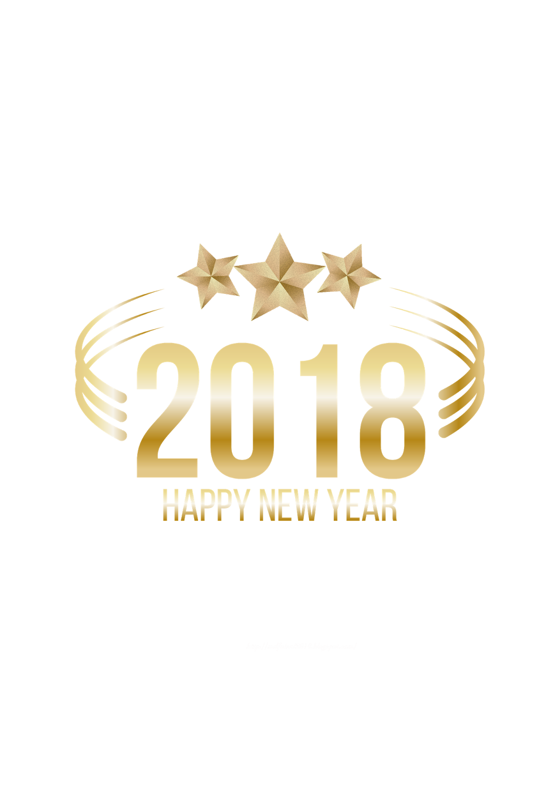 Happy 2018 png. New year photo md