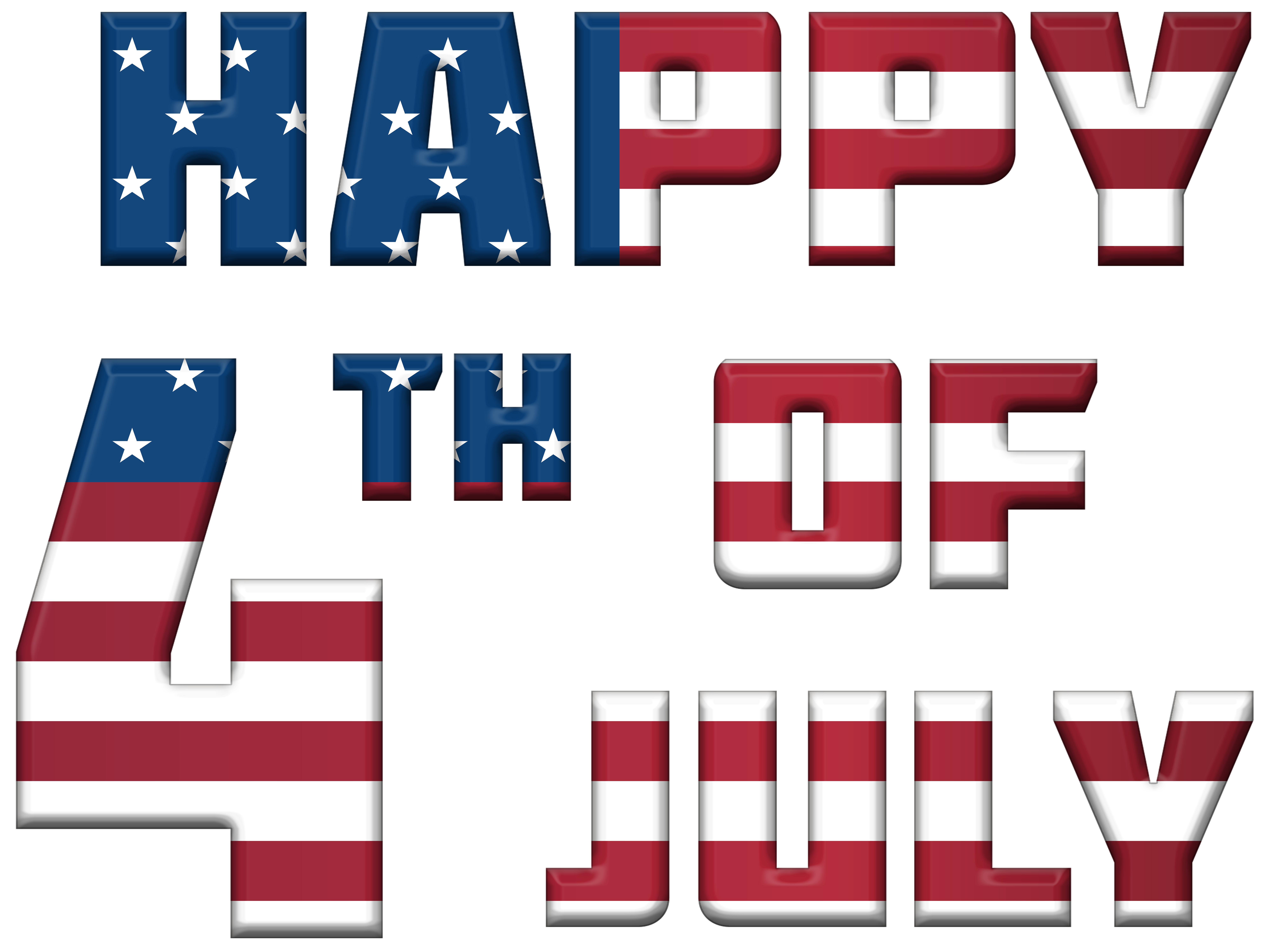 Happy 4th of july png. Th usa clip art