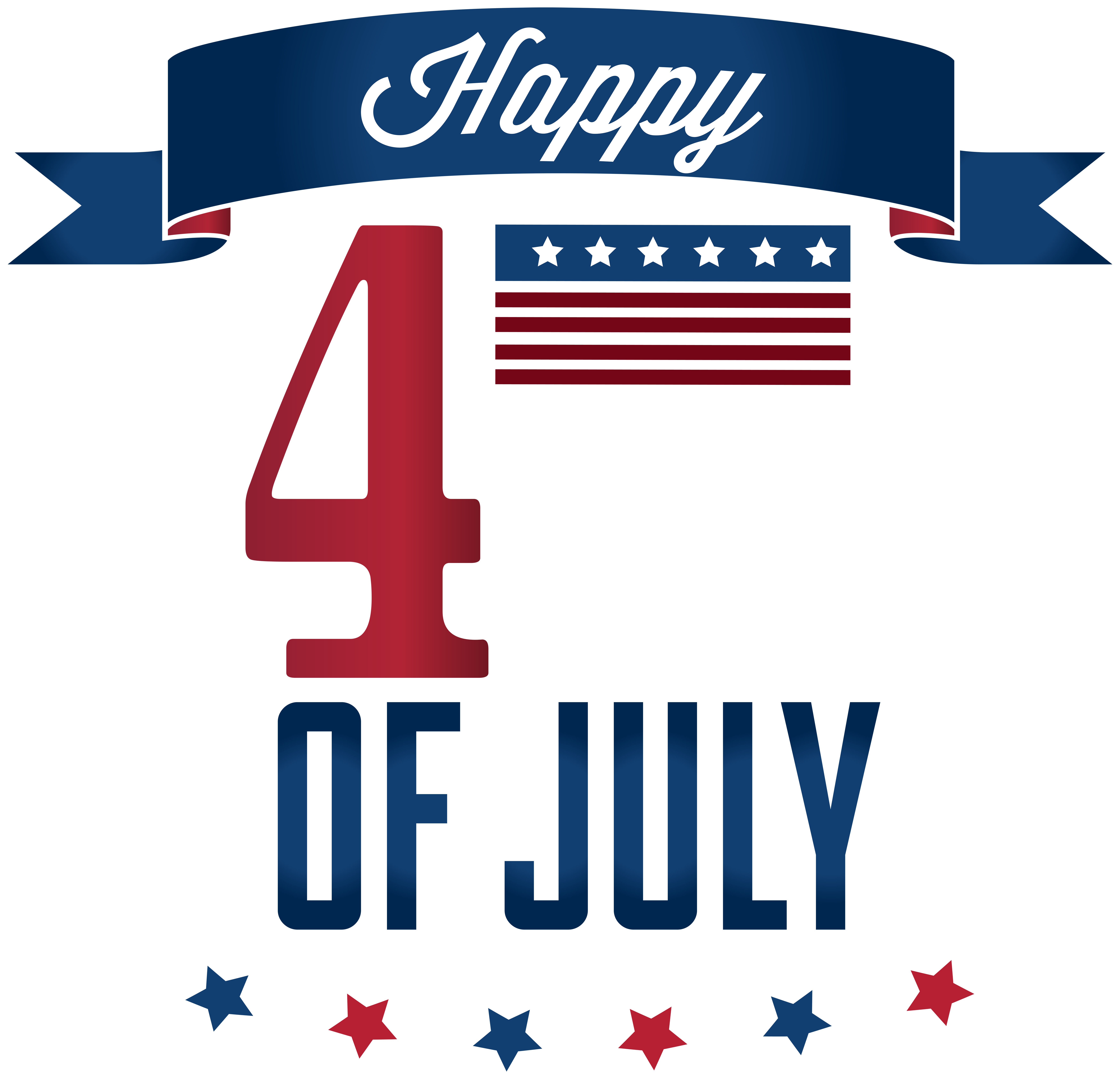 Happy 4th of july png. Th clip art image