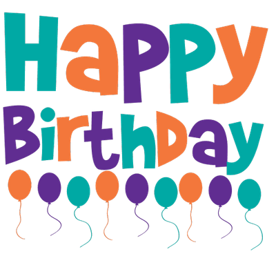 Happy birthday 3d text png. Images free download
