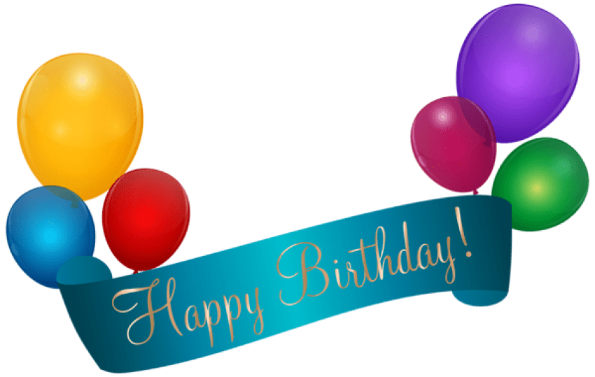 Happy birthday banner background png. Download transparent images free