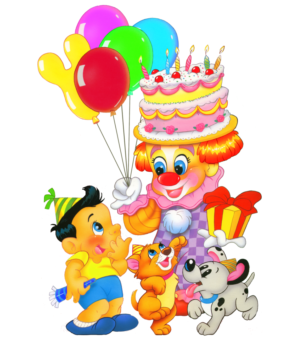Happy birthday boy png. Kids decor clipart picture