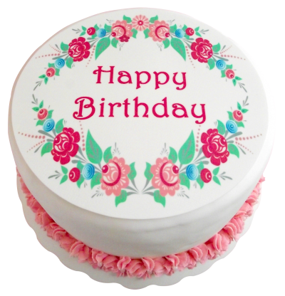 Happy birthday cake png. Download free transparent image