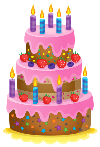 Cute clipart image clip. Happy birthday cake with 5 candles png png transparent
