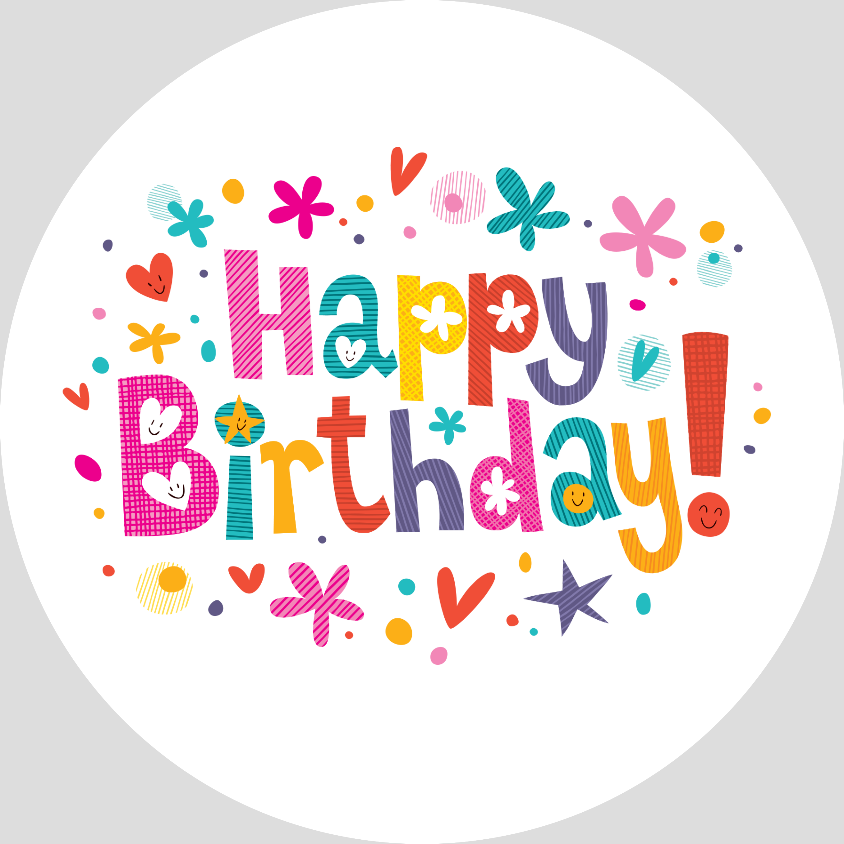 One vector png birthday. Clipart happy collection free