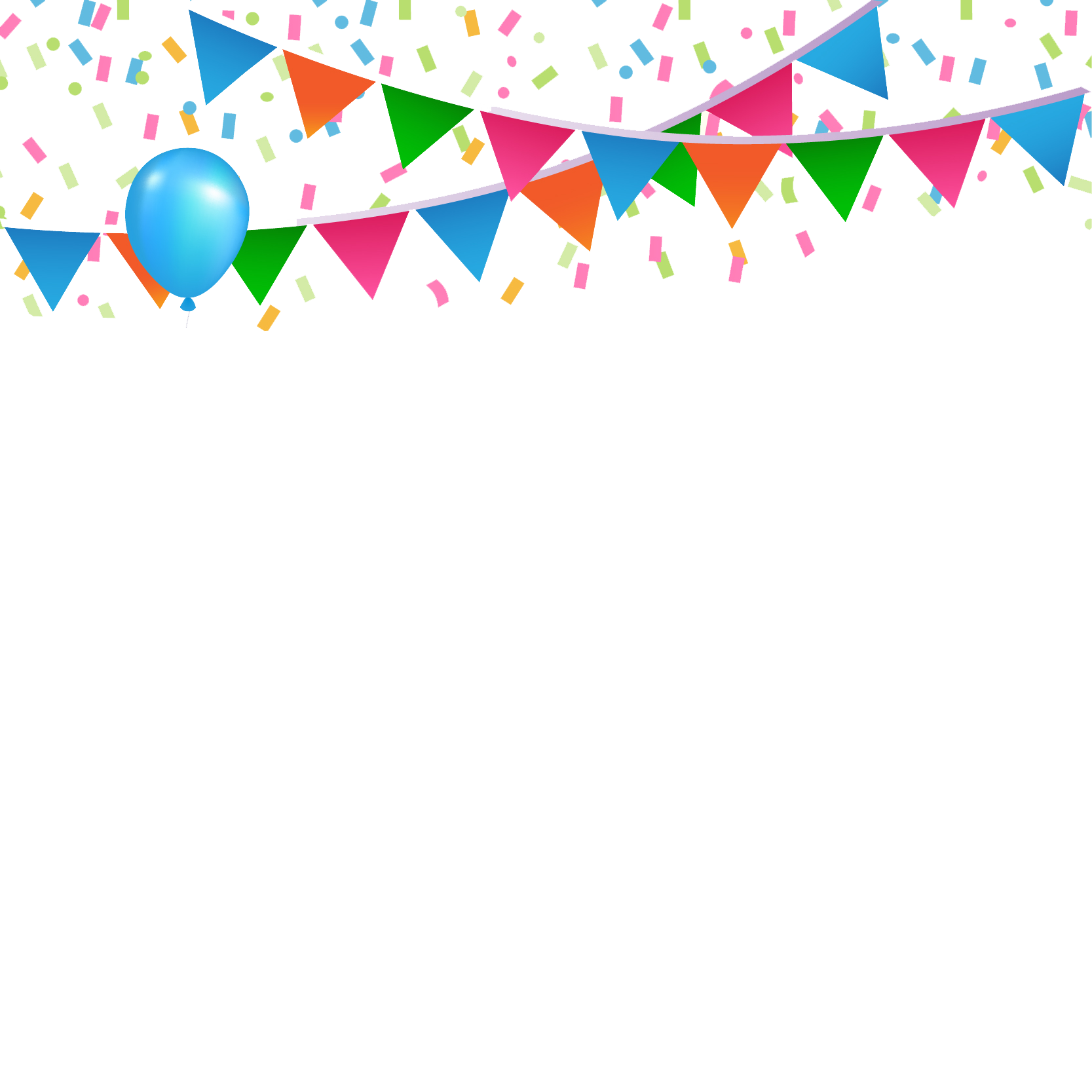 Birthday confetti png. Happy transparent picture peoplepng