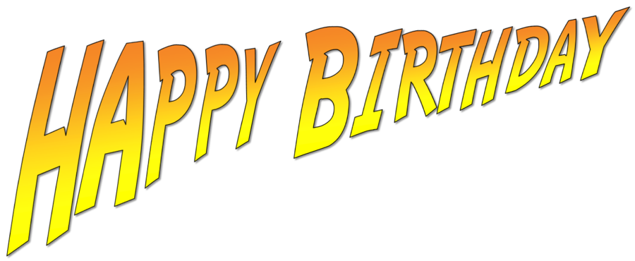 Happy birthday font png. Indiana jones by ent