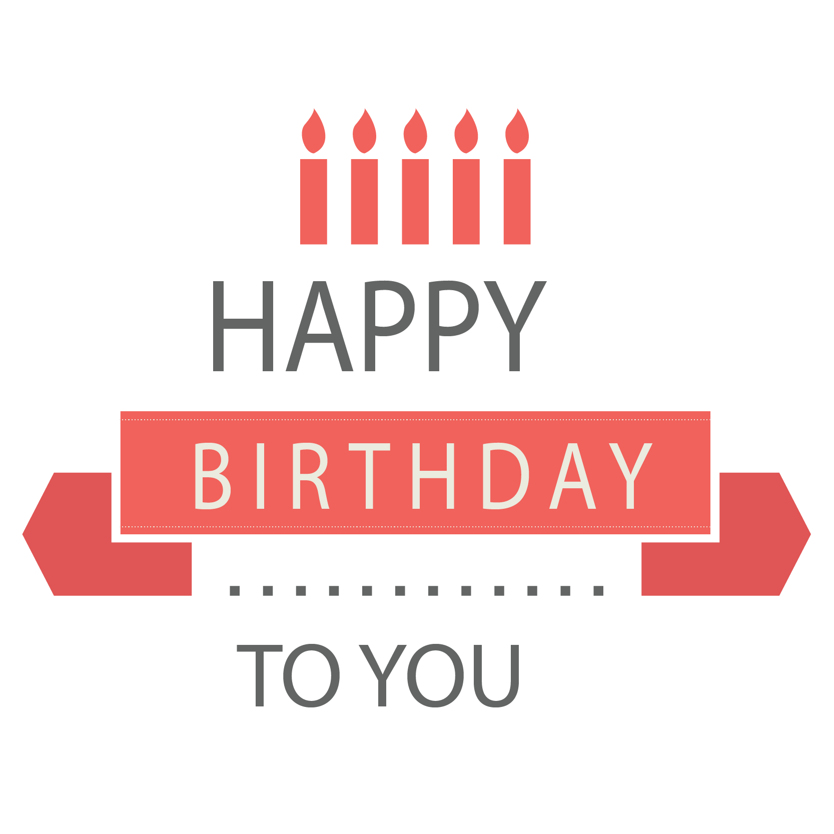 Happy birthday font png. Wish daughter happiness greeting