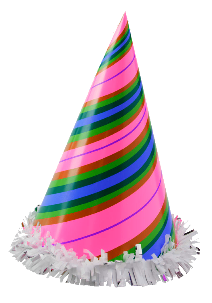 New years party hat png. Happy birthday child transparentpng