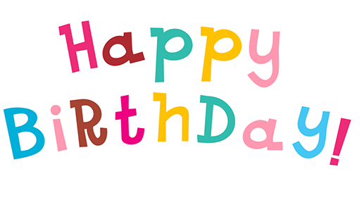 Happy birthday letters png. Images free download