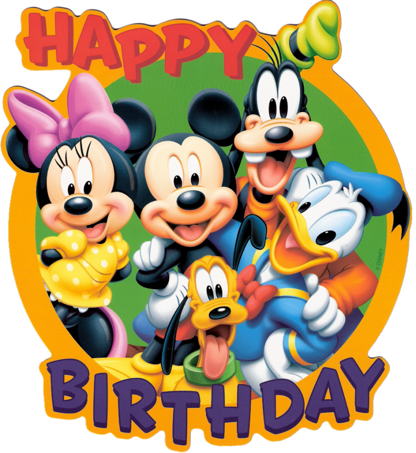 Happy birthday mickey mouse png. E ad d c