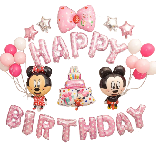 Happy birthday mickey mouse png. Minnie ribbon cake pink