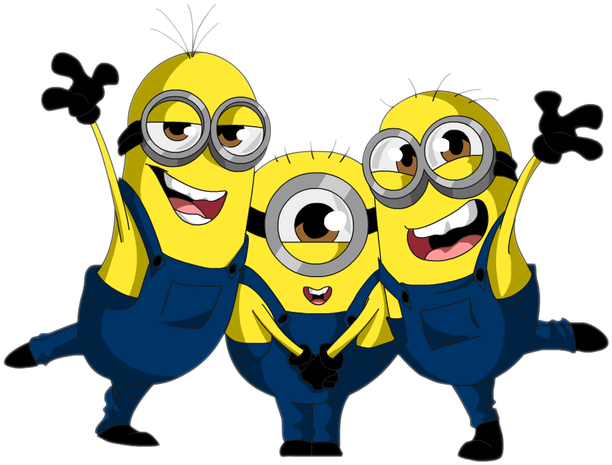 Vector minion happy. Minions by s on