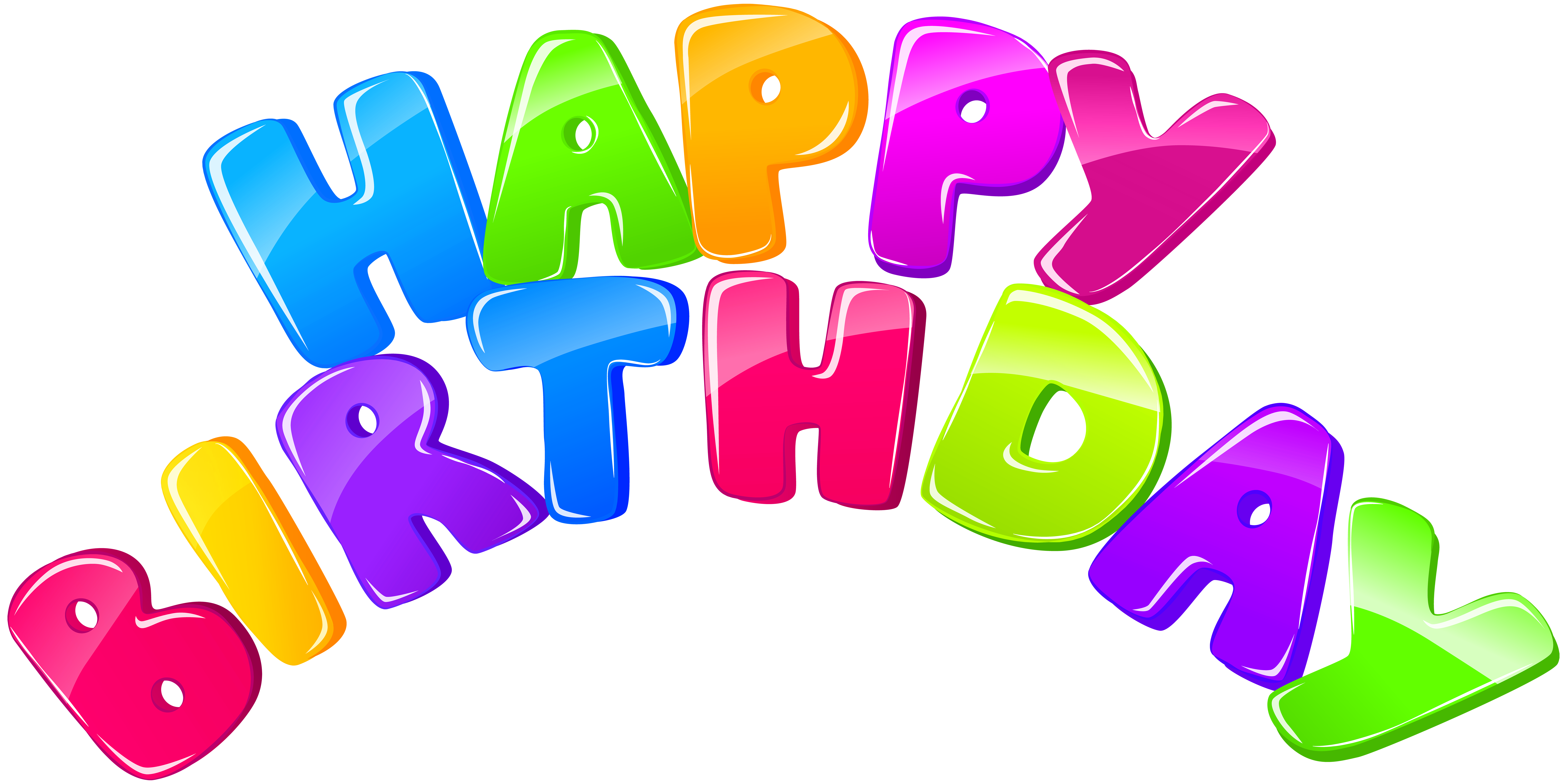 Happy birthday png images. Clip art image gallery
